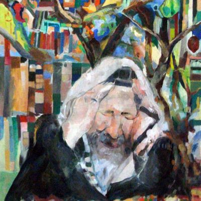 Tears never return empty Zohar, Hayai Sarah Oil on canvas, 60 x 50 cm. 5773.In the private collection of Rav Asher Eliah, Benai Brak, Israel