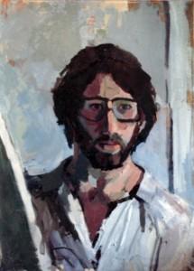 self portrait, Boston 1982 adj repaired